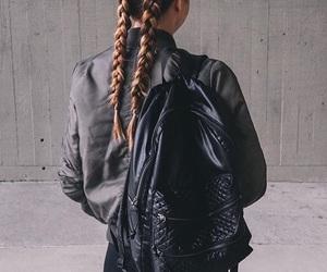 braid, fashion, and black image