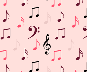music, patterns, and wallpapers image