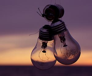 broken and lamp image