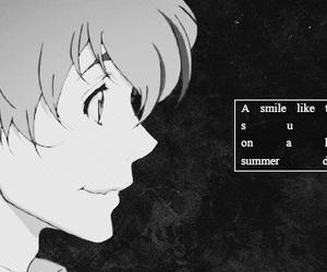 anime, zankyou no terror, and smile image