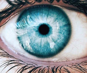 blue, beautiful, and eye image