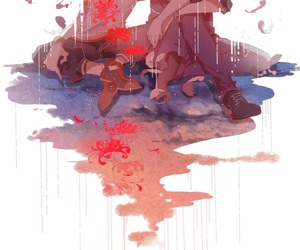 nine, zankyou no terror, and anime image