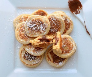 butter, food, and pancake image