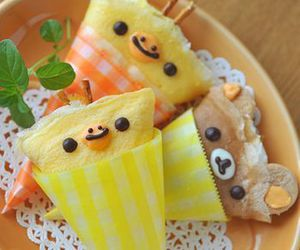 food, kawaii, and crepes image