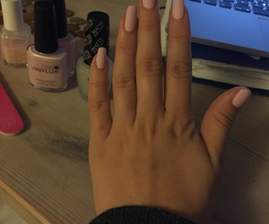 girl, girly, and long nails image