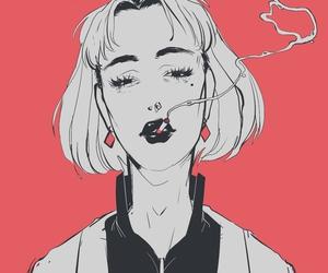 art and smoke image