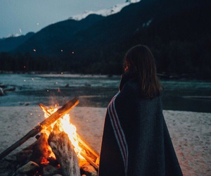 fire, nature, and thoughts image