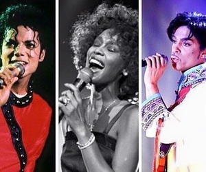 iconic, michael jackson, and prince image