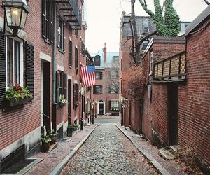 boston, brick, and city image