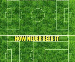 funny, bayern munchen, and manuel neuer image