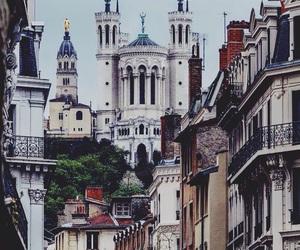 city, france, and lyon image