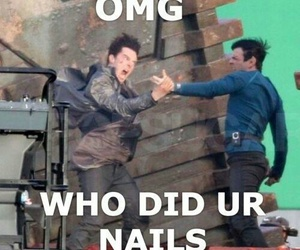nails, zachary quinto, and tumblr image