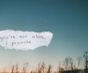 quotes, alone, and promise image