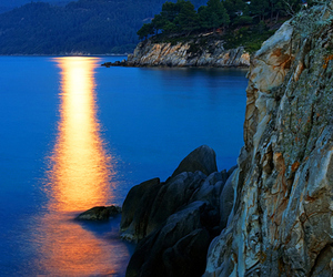 Greece, lights, and nature image