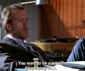 cool, dr house, and hugh laurie image