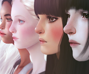 girls, sims, and the sims image