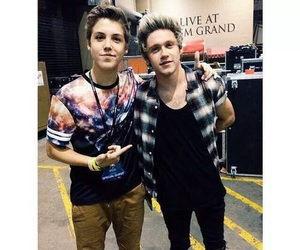 niall horan, matthew espinosa, and one direction image