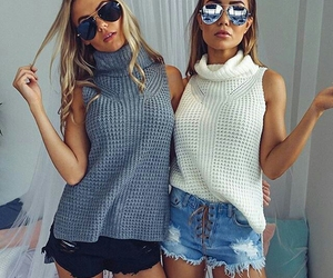 fashion, style, and friendship image