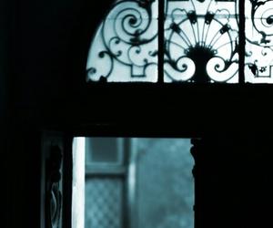 door, black, and dark image