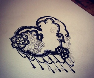 heart, tatuajes, and tattoo image