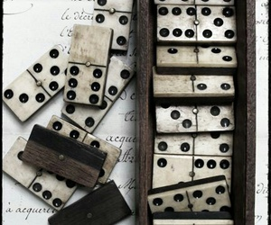 numbers, domino's, and old image