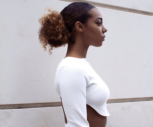 black woman, fashion, and trendy image