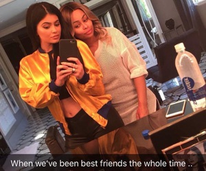 kylie jenner, blac chyna, and friends image