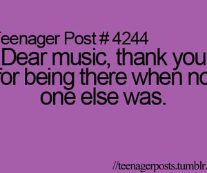 music, text, and teenager post image
