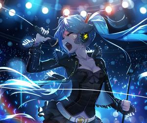 vocaloid, hatsune miku, and miku image