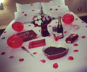 love, romantic, and red image
