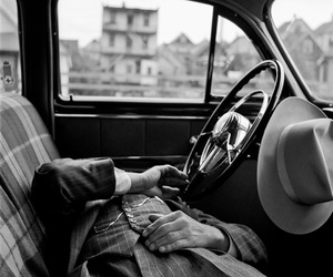 car, vivian maier, and black and white image