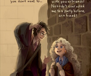 harry potter, luna lovegood, and friends image