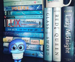 bibliophile, movie, and blue image