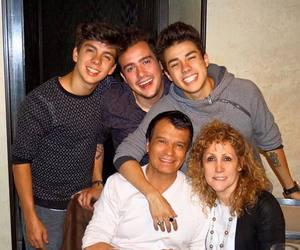 family, mario bautista, and jan carlo bautista image