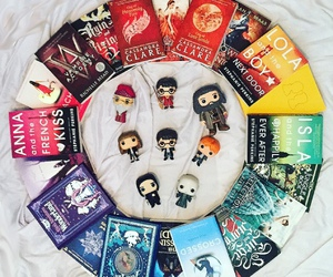 book, harry potter, and rainbow image