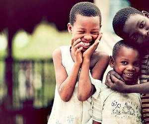 child, smile, and africa image