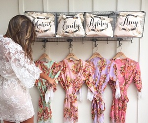 fashion, wedding, and bridesmaid image