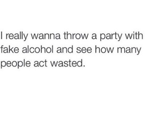 party, funny, and alcohol image