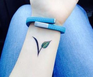 ink, tattoo, and vegan image