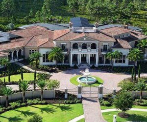luxury, home, and mansion image