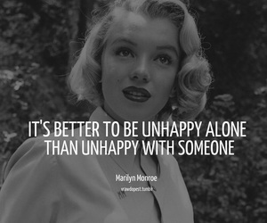 quote and marilyn image