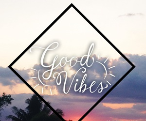 sunset and goodvibes image