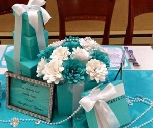 blue, deco, and party image