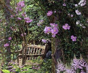 flowers and garden image