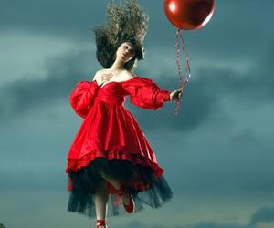 balloon, girl, and muse image