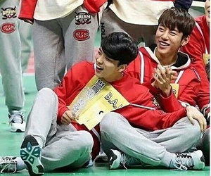 💗 and youngjae and daehyun image