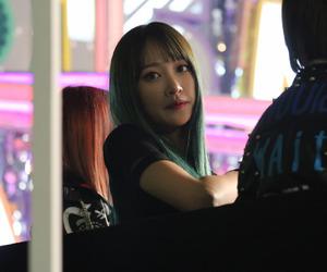 green, hair, and idol image