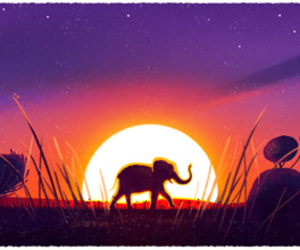 google, april 22, and day of the earth image
