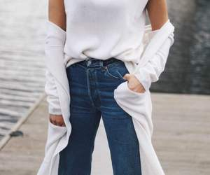basic, denim, and fashion image