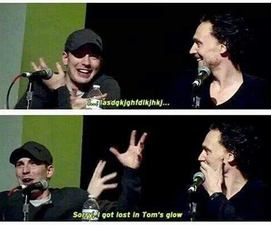 chris evans, tom hiddleston, and Avengers image